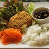 Cafe Ratta - 料理写真:外にも中にもチーズたっぷり♥【ダブルチーズハンバーグ】
