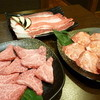 焼肉 たなか家 - 料理写真:塩タン、焼きしゃぶ、ロース!人気のお肉ベスト3!