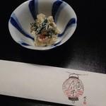 祇園 たに本 - スッキリした味の 白和えでした( ̄▽ ̄)