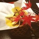 祇園 たに本 - 吹き寄せ 盛り付けが綺麗です