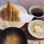 登良屋 - 2012/5/22 天婦羅一人前盛り(お食事付き)