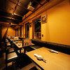 薩摩居酒屋 武ノ蔵 - 内観写真:ロールカーテンで半個室にも