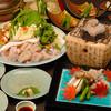 京料理 卯柳 先斗町 花 - 料理写真:活けのとらふぐをその日に調理する、【活けとらふぐコース】。身はぷりぷり、てっさも弾力性が違います!