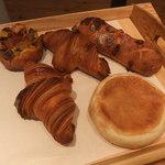 16142473 - 購入したパン。