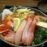 ぼて - 北海丼¥1200