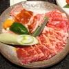 しゃぶしゃぶ・焼肉・すきやき  牛庵 - 料理写真:ボリュームランチのお肉【2012/12/0*】