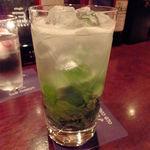 オールドコース - v(๑◕◡◕๑)-☆炭酸シュワシュワ中のモヒート美味しすぎます♫