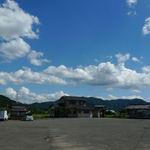 寿楽庵 - 駐車場です