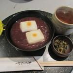 茶房 雲母 - 田舎しるこ(つぶ)