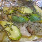 グラード - 豚バラ肉の香草ホイル焼き