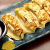 アカチチ - 料理写真:人気No.3 幻の豚「あぐー」で作る餃子。肉汁がたまりません。。