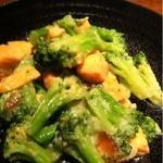 KEYAKI 欅 - 北海サーモンと奈良漬けの香醸焼き  しょっとしょっぱい