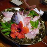 いそざきえん - 【寿料理】¥2625の姿づくり
