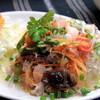 タイ屋台料理 ムエタイハウス - 料理写真:ヤムウンセン タイの代表的な春雨料理 甘酸っぱさが特徴