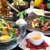 テイストシックス - 料理写真:看板メニューのお野菜お食事セット☆デザートワゴン付きのセットが大好評です!!