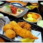 いっちょう - 料理写真:レディースランチ・・・主菜副菜てんこ盛り