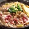 鍋と旬菜と京料理 花柳 - メニュー写真:牡丹鍋 美容と健康に 自慢の白味噌出汁が大人気
