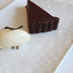 16208427 - チョコレートタルトのフォンダン仕立てプラス200円