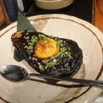 酒菜家 - 2012.12.06)米茄子の味噌田楽(580円)