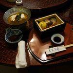 日本料理てら岡 - 先付け