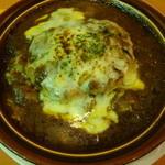デニーズ - 料理写真:焼チーズハンバーグカレードリア