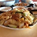 味華 - 料理写真:五目バリそば 680円