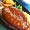 ぐらんぱぱ - 料理写真:ハンバーグステーキ