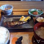 博多いねや - 焼き魚朝食(1200円)