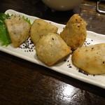遊 - 里芋の素揚げ
