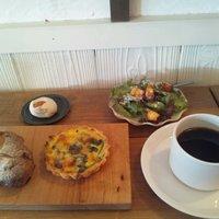 CAFE Uchi - キッシュセット ¥980