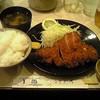 国一 - 料理写真:ロースかつ定食 1080円