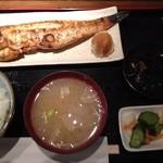 里の宿 - 甘鯛の煮付け定食