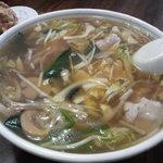 新華苑 - 料理写真:とろみのあるチャンポン