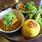ガネーシュ - 鶏ミンチ肉のキーマカレー