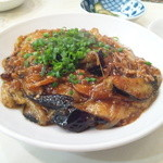 中華料理 澤味 - ナス味噌炒め