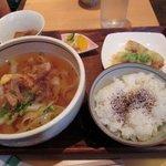 神戸のきしめん - 日替わりお昼のおすすめメニュー¥750