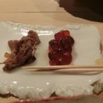 第三春美鮨 - 七年塩辛+粕漬けいくら