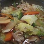 16320636 - お肉と野菜がいっぱい