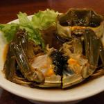 翠鳳 - 上海蟹の紹興酒漬け (雌)