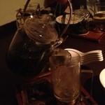 黒猫夜 - 烏龍茶