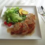 カジュアルフレンチ Sincerite - チキンのガランティーヌ、バルサミコソース
