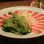 祇園 馬春楼 - 桜ハリハリ鍋