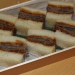 祇園 馬春楼 - お土産 桜サンドイッチ