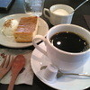 メリーゴーランド - 料理写真:H24/9チーズケーキと河野さんのコーヒー