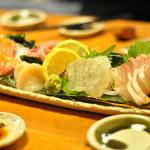 魚菜屋 幸太 - お造り盛り合わせ