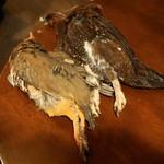 のむくらう Gazzat - 赤足ウズラ(6,000円)、スコットランド産雷鳥(8,000円)