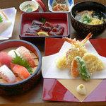 まさ泉 - 料理写真:泉御膳 寿司セット