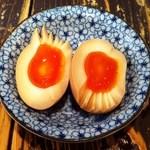 豪ーめん - 味玉は別皿で・・・