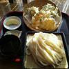 ザ・大将 - 料理写真:野菜天ぷら三点盛りせいろ(750円)_2012-12-14
