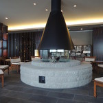 章月グランドホテル - 朝はここでコーヒーを